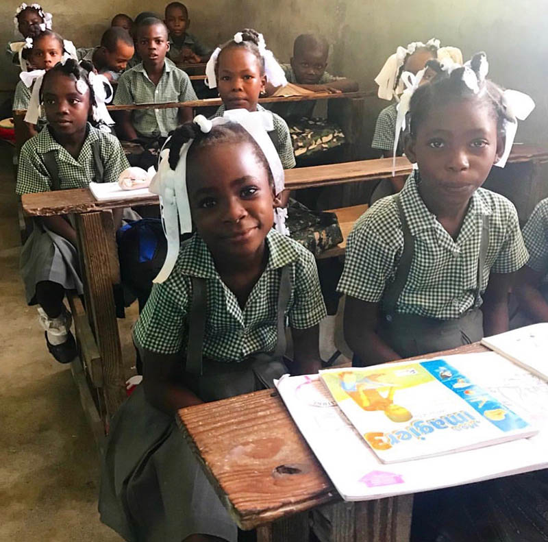 Haiti Education Foundation has grown in to 34 elementary and 6 high schools educating over 7,000 students